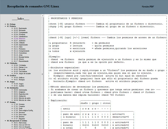 Recopilación de comandos para GNU/Linux