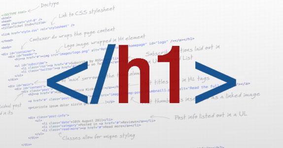 Etiqueta H1 de HTML